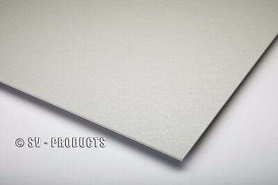 Abs Plastic Sheet Light Gray Vacuum Forming 18 Thick 24 X 24 - 252e