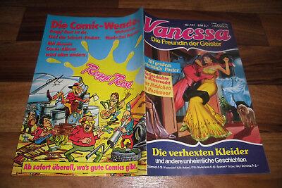 VANESSA # 121 -- die VERHEXTEN KLEIDER // mit Vanessa Poster / 1. Aufl. 1986