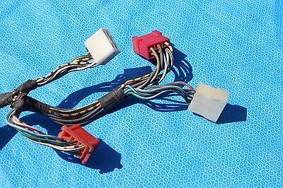 fiat 124 spider 1976 instrument cluster wiring harness