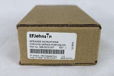 Ef Johnson 589-0015-057 Speaker Mic New