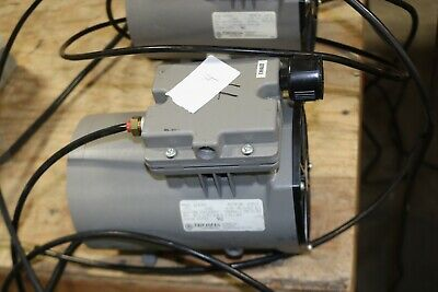 Thomas Compressor Vacuum Pump 607ca32 115v