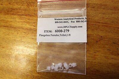 Western Analyticalupchurch 10pk 18 Tefzel Flangeless Ferrules Hplc
