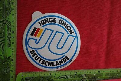 Alter Aufkleber Partei Junge Union Deutschlands