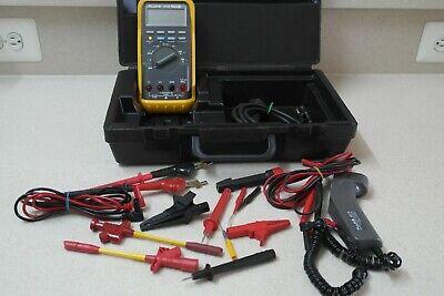 Fluke 88 Kit Automotive Multimeter Combo Kit Fluke 80t-ir Infrared Temperatur