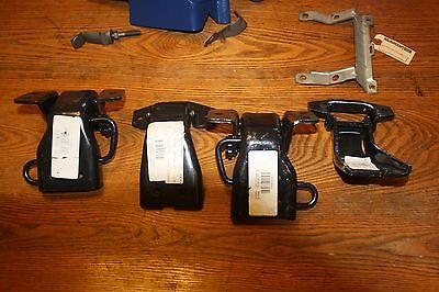NOS 1969 1970 FORD MUSTANG SHELBY COUGAR DOOR HINGES SET OF 4