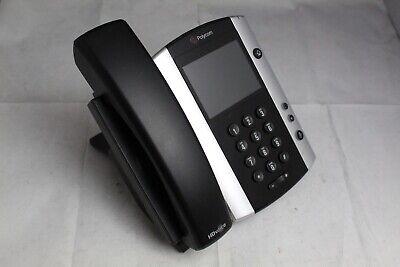 Polycom Vvx500 12 Line Ip Voip Color Touchscreen Business Office Phone