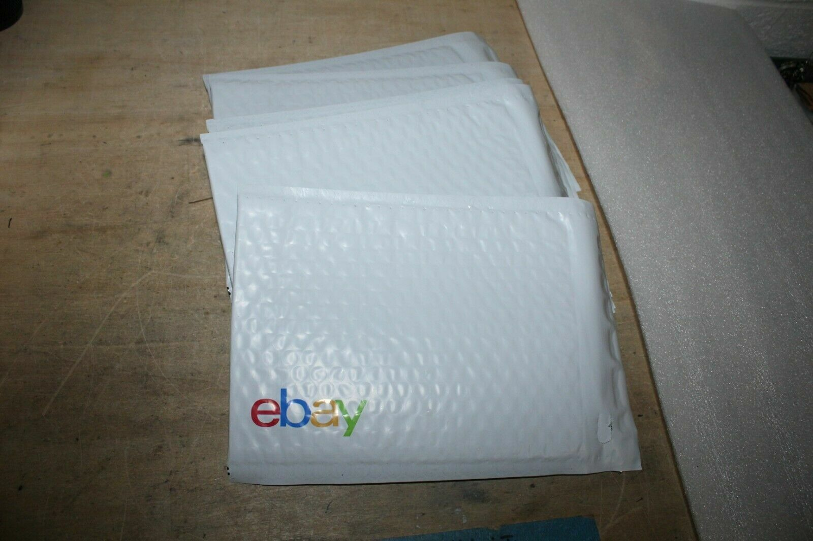 Lot Of Five x5 EBay-Branded Padded Airjacket Multi-Color Print 6.5 X 9.25  - $6.75