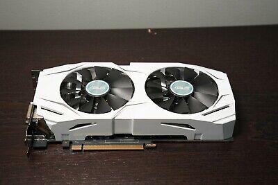 ASUS GeForce GTX 1070 8GB GDDR5 Graphics Card (DUALGTX1070O8G) White