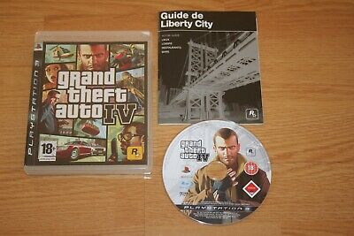 Grand Theft Auto GTA IV Sony PS3 PlayStation 3, 2008 Version française complet, used for sale  Shipping to Nigeria