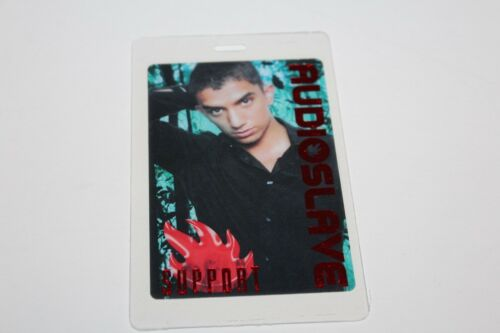 Audioslave  - Laminated Backstage Pass - Support - FREE POSTAGE Chris Cornell