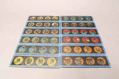 36 Laterna Magica Bilder Lantern Slides Glasbilder Geb.Bing Nürnberg u E. Plank