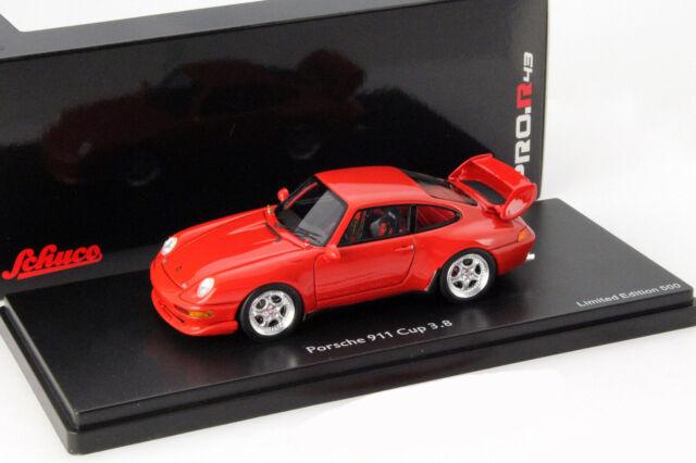 Porsche 911 (993) Cup 3.8 indisch rot 1:43 Schuco