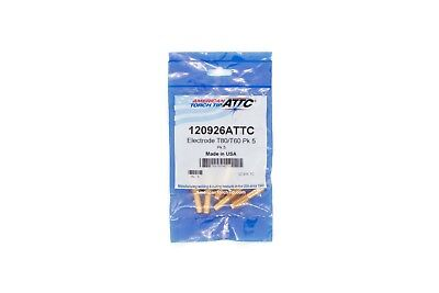 120926 Plasma Cutting Consumable Electrode T80 T60 Hypertherm Powermax 1000