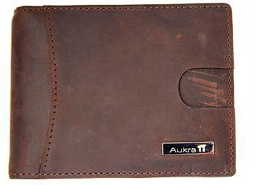 Accessories Money Clip Wallet - Aukra Accessories Genuine Leather Slim Bifold Wallet with Money Clip & EasyTab