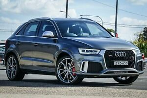 2015 Audi RS Q3 8U MY16 S Tronic Quattro Grey 7 Speed Sports Automatic Dual Clutch Wagon Greenacre Bankstown Area Preview