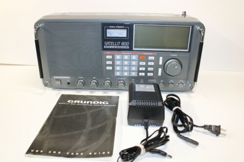 Grundig Satellit 800 Millennium World-Band Receiver Shortwave Radio with Manual