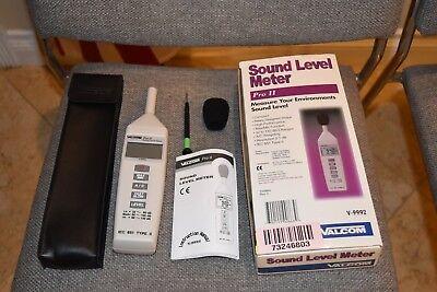 New Valcom V-9992 Sound Level Meter Pro Ii Measure Your Environment Decibel Db