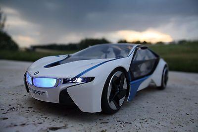 RC BMW I8 Vison Efficient Dynamics ferngesteuertes Auto Sportwagen Hybrid RTR
