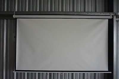 """100"""" Projector 16:9 Projection Screen-White"""