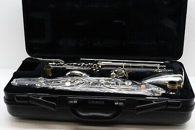 Yamaha 221 II Bass Clarinet Excellent Condition with Case **AWESOME**