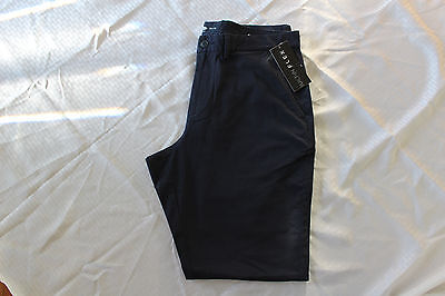 Old Navy Khaki Pants Mens Olx Athletic Navy Captian Color Size 44X32 Nwt