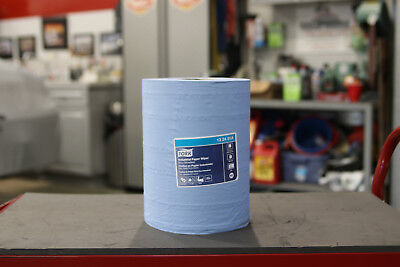 Blue Shop Towel Roll By Tork For Centerfeed Dispenser 13 24 51a New