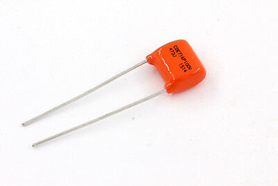 Sprague Orange Drop Tonecap best for Fender Guitars .047 µF 100V Capacitor