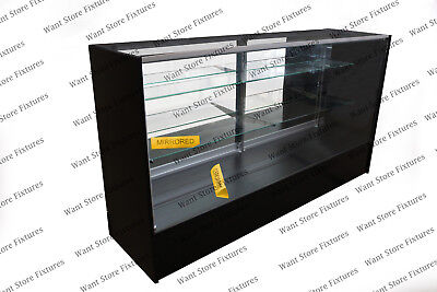 Sc6 - 6 Full Vision Retail Glass Display Case In Four Colors