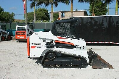 2016 Bobcat T550 Wheel Loader Orops 1496 Hours - Hand And Foot Control