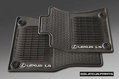 Lexus LS460 (2013-2017) (AWD / Short Wheel Base) 4pc ALL WEATHER FLOOR MATS OEM