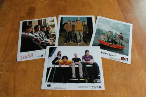 The All American Rejects  - 4x Promo Publicity Photo /