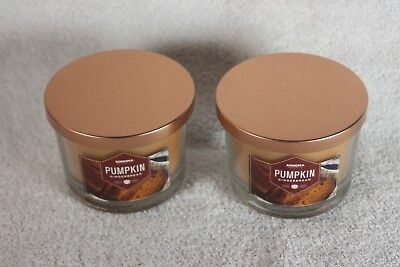 Sonoma 4.8OZ Pumpkin Gingerbread candles, Qty of 2