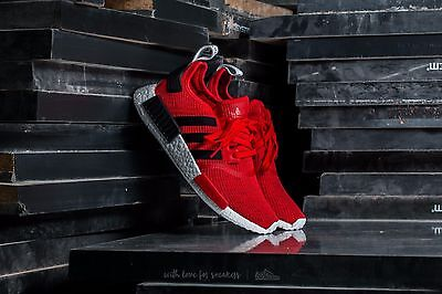 Adidas Nmd R1 Core Red Nomad Black Deadstock Brand New Men Size 4 13  Bb2885