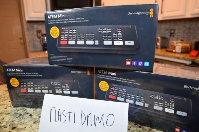 Blackmagic Atem Mini - Brand New Sealed - Same Day Shipping!