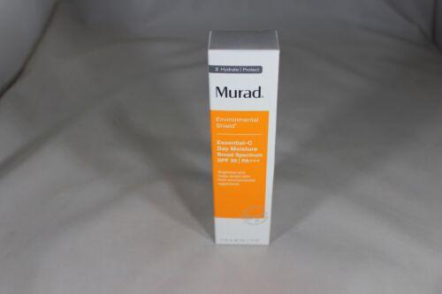 Murad Environmental Shield Essential C Day Moisture SPF 30 1.7oz 50ml Exp 4/2023
