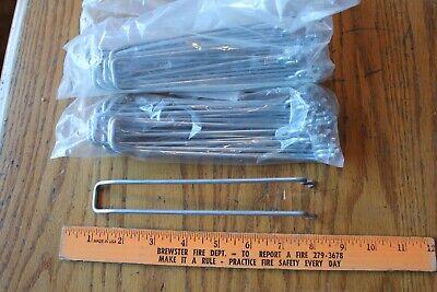 20 Pieces 7 Inch Double Peg Board Shelving Tool Hooks Storage Board Metal