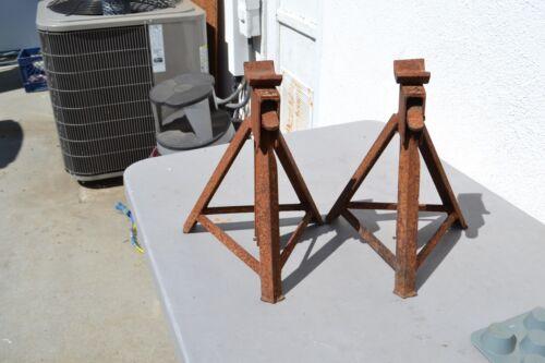 vintage Pair of jack stands