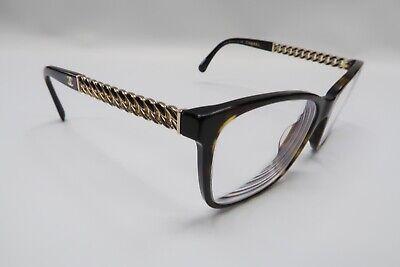 Chanel 3302 Rx Eyeglasses Frames 714 Tortoise Brown Gold 54[]16-140 Italy (Chanel Frames For Men)