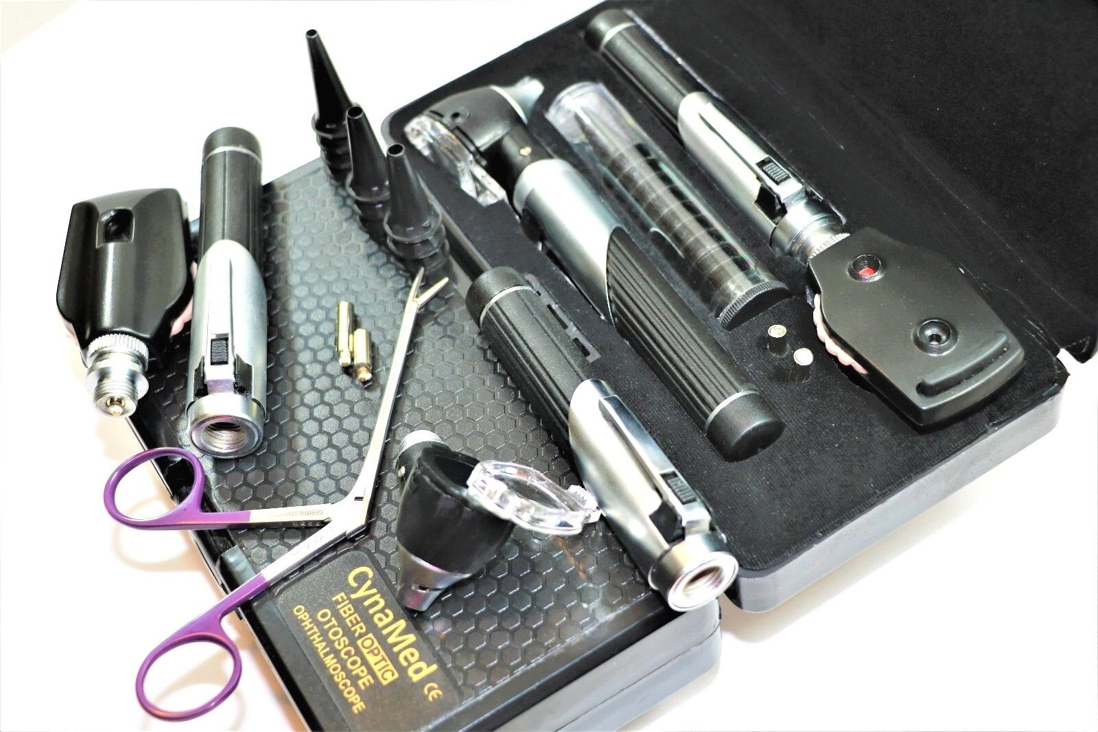 Premium FIber Optic Mini Otoscope Opthalmoscope (Diagnostic