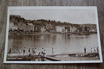 Esplanade Oban Postcard 1957