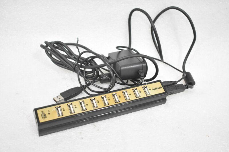 KANGURU 10-PORT USB 2.0 DUPLICATOR WITH AC ADAPTER, FOR FLASH / HARD DRIVES
