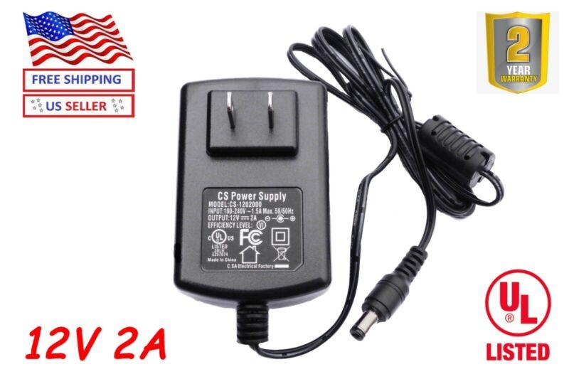 CS-1202000 DC 12V 2A Power Supply  Adapter 12V 2A Adapter