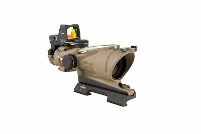 Trijicon 4x32 ACOG ECOS, Dual Illuminated Green Crosshair 5.56 Reticle w: 100554