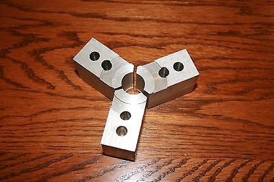 Aluminum Soft Jaw Set Of 3 For 3 Jaw Chuck L B Precision For Micor Centric