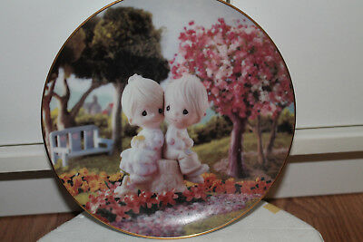 The Hamilton Collection Precious Moments 'Love One Another' Plate, 1993
