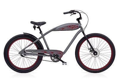 Electra Relic3i Beachcruiser Chopperbike Cruiser Bike HotRod Flame Vintage Style Beach Cruiser Bikes