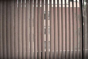Vertical Cloth Blinds with Frame 10ft x 7ft