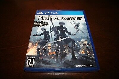 Nier: Automata  (Sony PlayStation 4 PS4, 2017) Brand New and Sealed