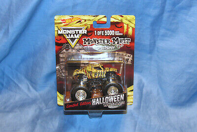 2018 Monster Mutt Mummy Monster Jam Truck 1:64 Exclusive Halloween Edition 5K