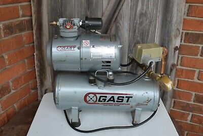 Gast 1hab-11t-m100x Air Compressor W Sa55nxgte 16 Hp Emerson Motor